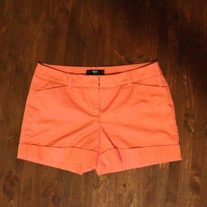 Coral Mossimo Shorts